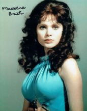 Madeline Smith Autograph Signed Photo - Miss Caruso